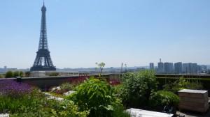 Toiture de la Cité de l'architecture et du patrimoine à Paris