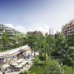 Image de synthèse du quartier «Issy cœur de ville», présenté par Altarea Cogedim sur Youtube.