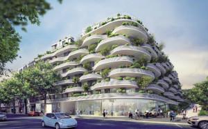 Le projet ôm prend place près de la futur gare du grand Paris Express.