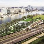 Le projet de centre aquatique de l'architecte Jean Guervilly