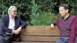 Jean-Jacques Guillet, maire de Chaville et David Ernest, tête de liste des écologistes chavillois, présentent leur accord sur YouTube.